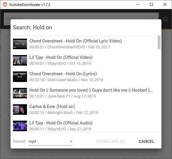2. تحميل فيديو من اليوتوب مع With YoutubeDownloader