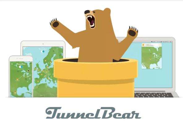 7-افضل برنامج VPN مجاني Tunnelbear