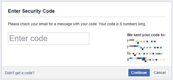 استرجاع حسابك على الفيسبوك