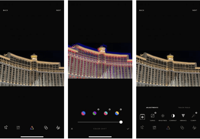 3. Afterlight تطبيق لتعديل الصورعلى iPhone