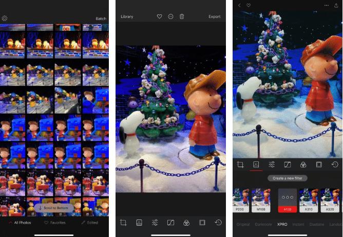 4. Darkroom تطبيق لتعديل الصورعلى iPhone