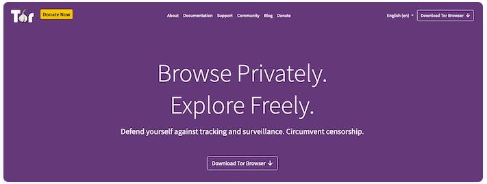 أفضل متصفح لحماية الخصوصية