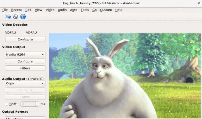 برنامج مونتاج الفيديو Avidemux للكمبيوتر