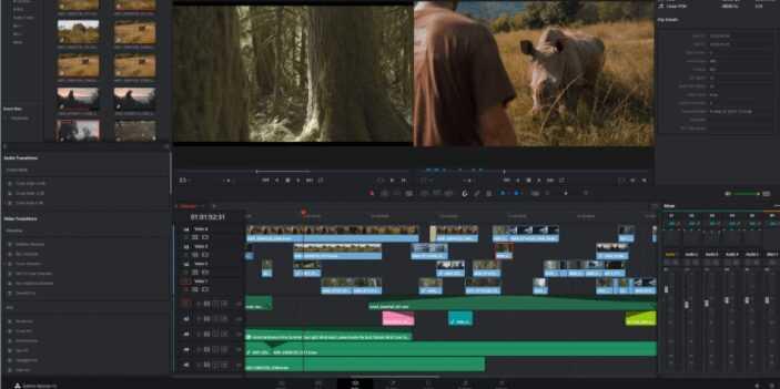 برنامج مونتاج الفيديو DaVinci Resolveللكمبيوتر