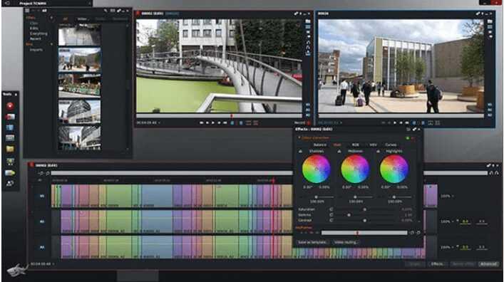 برنامج مونتاج الفيديو Lightworks للكمبيوتر