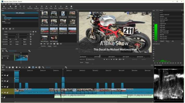 برنامج مونتاج الفيديو Shotcut للكمبيوتر