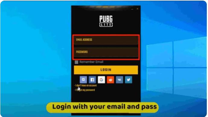 تشغيل لعبة PUBG Lite