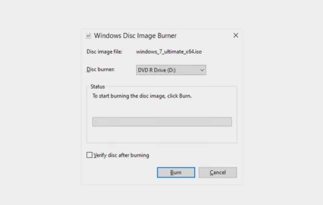 كيفية حرق ملفات ISO