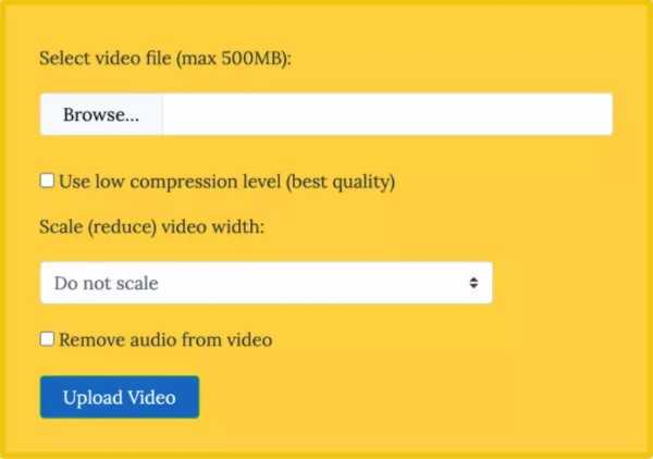 موقع VideoSmaller