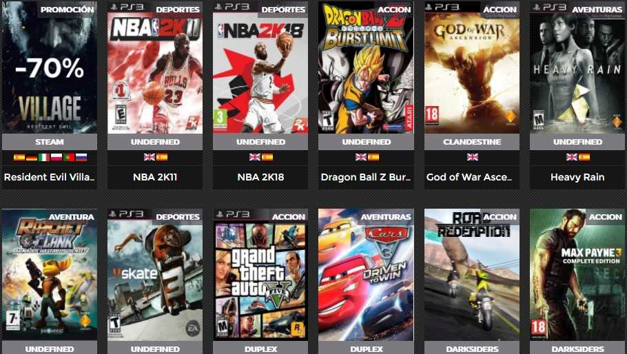 GamesTorrents PS3
