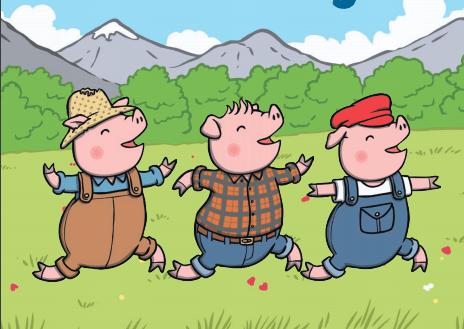 قصة الخنازير الثلاثة