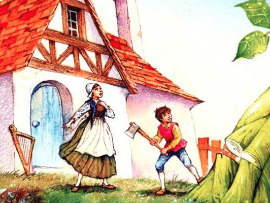 قصة الصغير جاك وشجرة الفاصولياء