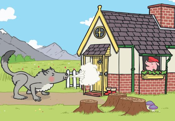 منزل الخنزير الثالت